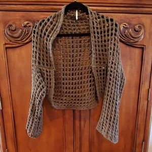 Free People Shrug/ sweater wrap